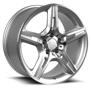 OE Wheels LLC UPC 6710204 5 Silver Machined