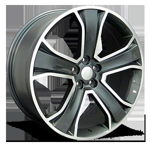 OE Wheels LLC UPC 6870077 5 Gunmetal Machined