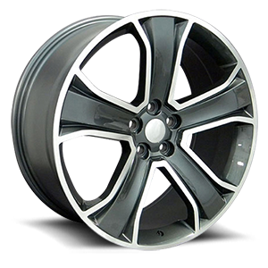 OE Wheels LLC UPC 6710204 5 Gunmetal
