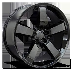 OE Wheels LLC UPC 9360888 5 Gloss Black