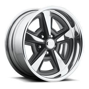 Trans Am - U429 Matte Gunmetal | Polished 5 lug