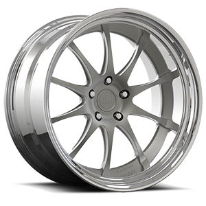 PT.2 - U702 Textured Gun Metal 5 lug