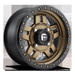 Fuel UTV Wheels Anza - D583 - UTV 4 Bronze w/ Black Ring
