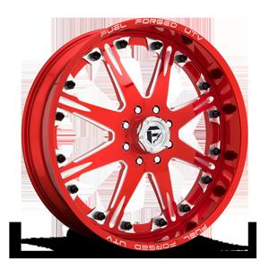Fuel UTV Wheels FF25 - UTV 4 Candy Red