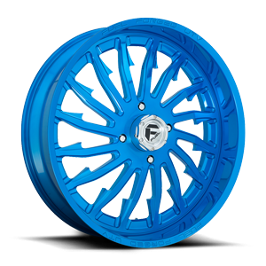 FF30 - UTV Candy Blue Over Polish 4 lug