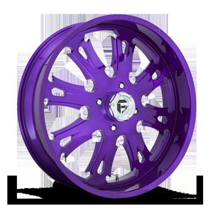 Fuel UTV Wheels FF38 - UTV 4 Candy Purple & Milled