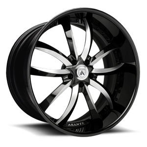 VF601 Black And White 5 lug