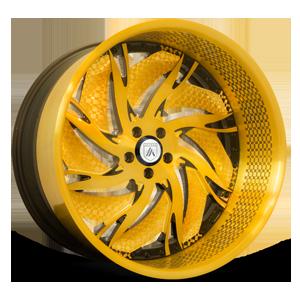VF836 Gold 5 lug