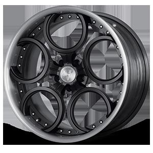 VFC Concave Gloss Black 5 lug
