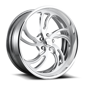 VILLAIN 5 - U495 Brushed Polished 5 lug