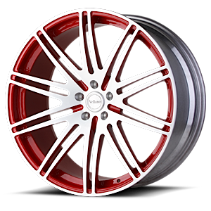 VM01 Brushed Red 6 lug