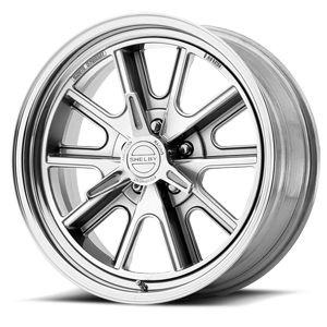 VN427 Shelby Cobra Two-Piece Polished 5 lug