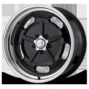 VN511 Gloss Black with Chrome Lip 5 lug