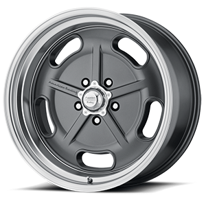 VN511 Gunmetal with Chrome Lip 5 lug