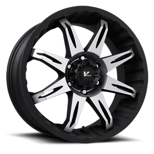 V Rock Wheels VR5 Core 6 Matte Black