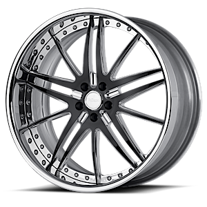 VSC Polished Black 5 lug