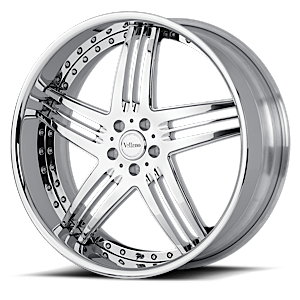 VSW Chrome 5 lug
