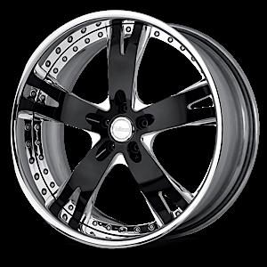 VSY Black Chrome 5 lug