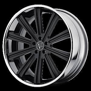 VTi Black Chrome 5 lug