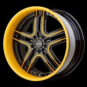 VTJ Brown and Yellow 5 lug