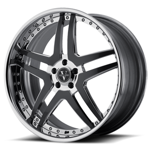 VTU Chrome 5 lug