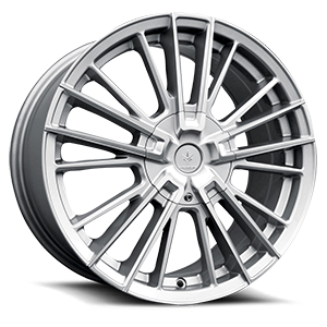 Verde Wheels V10 Influx 5 Gloss Silver Machined