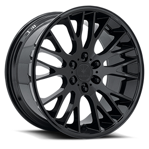 V22 Duo Gloss Black 6 lug