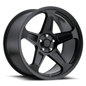 Demon Matte Black 5 lug
