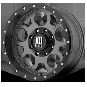 XD126 Enduro Pro Matte Gray w/ Black Ring 8 lug
