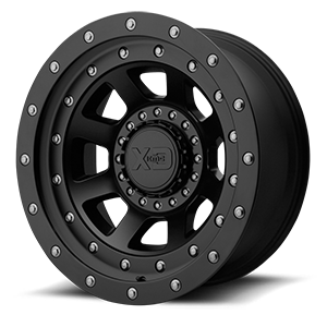 XD137 FMJ Satin Black 6 lug