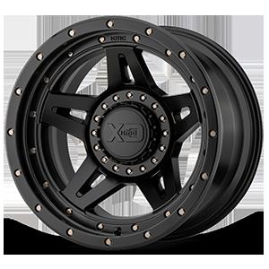 XD138 Brute Satin Black 5 lug
