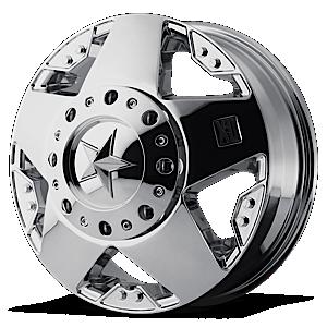 XD775 Rockstar Dually Chrome 8 lug