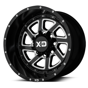 XD833 Recoil Satin Black Milled w/ Reversible Ring 8 lug