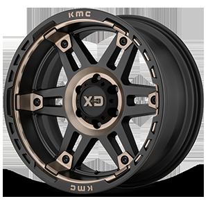 XD840 Spy II Satin Black with Dark Tint 6 lug