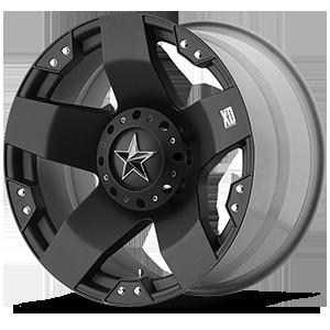 XD775 Rockstar Matte Black 6 lug