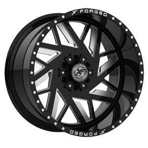 XFX-306 Black Milled 6 lug