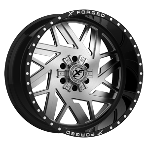 XFX-306 Gloss Black Brushed 6 lug
