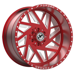 XFX-306 Red Milled 6 lug