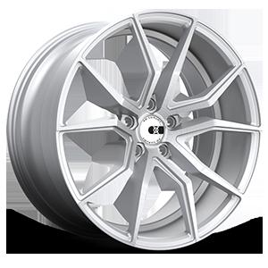 XO Wheels Verona X253 5 Silver w/ Brushed Face