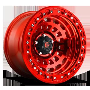 Zephyr Beadlock - D100 Candy Red 5 lug