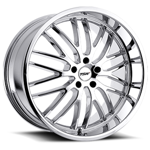 Snetterton Chrome 5 lug