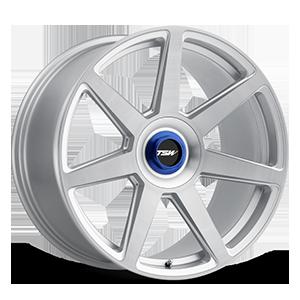 Evo-T Silver w/ Brushed Face 5 lug