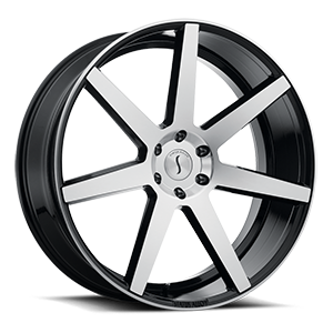Status Wheels S838 Journey 6 Gloss Black Machined Face