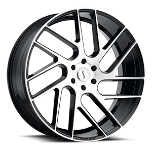 Status Wheels Juggernaut 6 Gloss Black w/ Machined Face