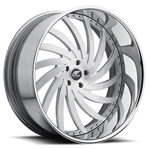 Vornado Satin with Chrome Lip 5 lug
