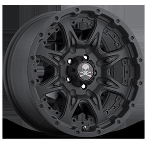 Buckshot (S100) Matte Black 5 lug