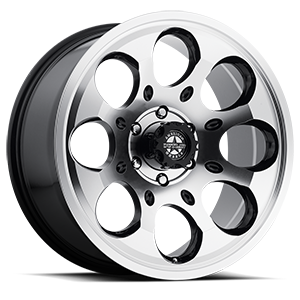 Ranger (S123) Gloss Black with Machined Face 6 lug