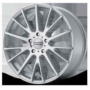 American Racing Custom Wheels American Racing AR904 5 Silver w/ Machined Face