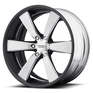 VN476 Slate Two-Piece Brushed Center w/ Painted Barrel 6 lug