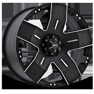 901 Hyjak Flat Black 6 lug